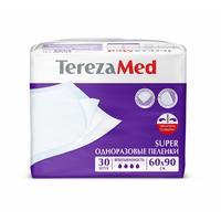 Пеленки впитывающие TEREZA MED 60х90 см SUPER (30 штук в упаковке)