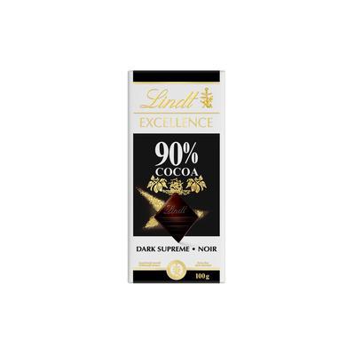 Шоколад Lindt Excellence горький 90% какао 100 г