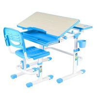 Комплект детской мебели Lavoro Blue парта со стулом регулируемыeе (синий)