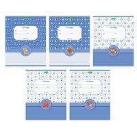Тетрадь школьная Hatber ECO Аквариум А5 12 листов в линейку (обложка в ассортименте)