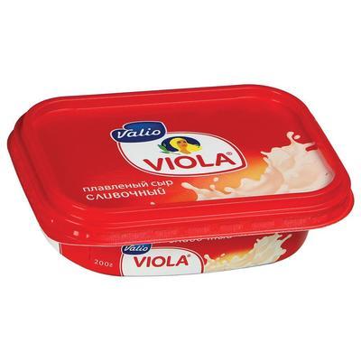Сыр плавленый Viola сливочный 60% 200 г