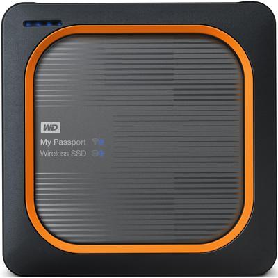 Внешний SSD WD My Passport Wireless SSD 2 Tb (WDBAMJ0020BGY-RESN)