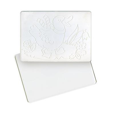 Доска для лепки А4 с рельефным трафаретом