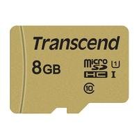 Карта памяти 8 ГБ micro SDHC Transcend TS8GUSD500S Class 10