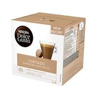Капсулы для кофемашин Nescafe Dolce Gusto Cortado (16 штук в упаковке)