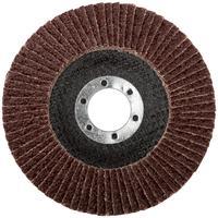 Круг шлифовальный лепестковый торцевой (115 мм, Р 24) FIT (39540)