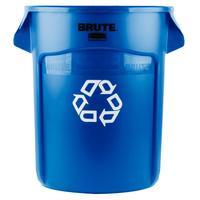 Контейнер-бак универсальный (пищевой) Rubbermaid Brute 75,7 л пластиковый синий