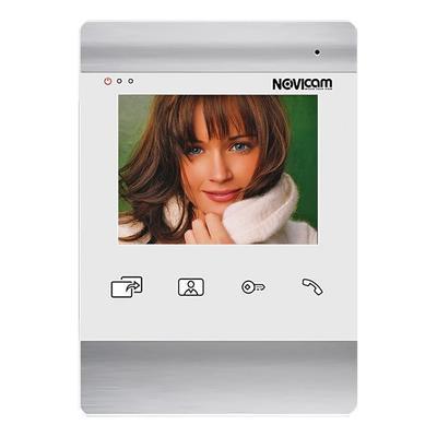 Видеодомофон NOVIcam белый Magic 4