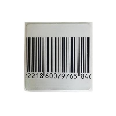 Этикетки самоклеящиеся защитные ложный штрихкод (40х30 мм, 1000 штук в рулоне)