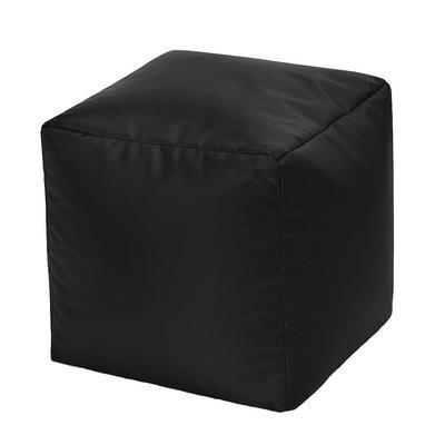 Пуфик-мешок Точка роста черный (искусственная кожа)