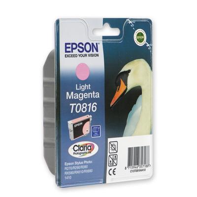 Картридж струйный Epson C13T08164A10/C13T11164A10 светло-пурпурный оригинальный