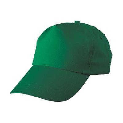 Бейсболка универсальная Диджей зеленая