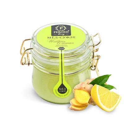 Мед-суфле Peroni-honey Имбирика с лимоном 250 г