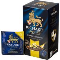 Чай Richard Royal Cardamom черный с кардамоном и бергамотом 25 пакетиков