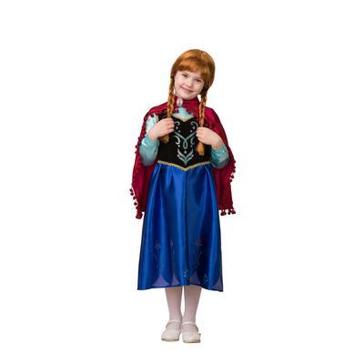 Костюм карнавальный Батик Анна для девочек (размер 134-68)