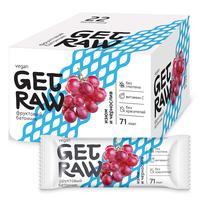 Батончик Get Raw протеиновый изюм и чернослив (22 штуки в упаковке)