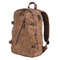 Рюкзак Polar из экокожи коричневого цвета (273-18)