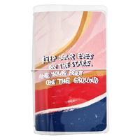 Записная книжка Be Smart Paints A6+ 64 листа разноцветная комбинированная на скрепке (108x175 мм)