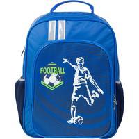 Рюкзак школьный №1 School Футболист синий