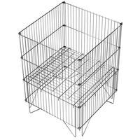 Накопитель для торгового зала с регулируемым дном (616х616х834 мм)