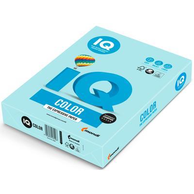 Бумага цветная для печати IQ Color голубая пастель BL29 (А4, 160 г/кв.м, 250 листов)