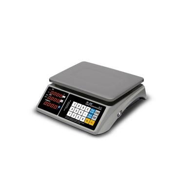 Весы торговые настольные M-ER 328 AC-15.2 TOUCH-M LED (RS232, USB)