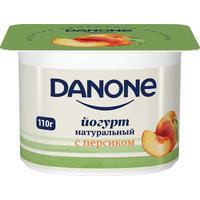 Йогурт Danone с персиком 2.9% 110 г