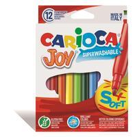 Фломастеры Carioca Joy 12 цветов
