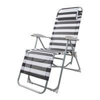 Кресло-шезлонг Green Glade 3220 (черный/белый, 930х640х1140 мм)