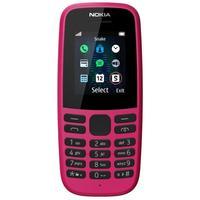 Мобильный телефон Nokia 105 SS розовый (16KIGP01A13)
