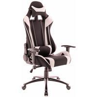 Кресло игровое Everprof Lotus S4 серое/черное (ткань, металл)