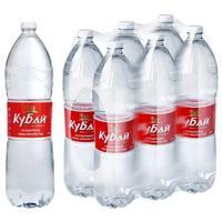 Вода питьевая Кубай негазированная 1.5 л (6 штук в упаковке)