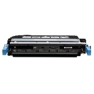 Картридж лазерный HP 642A CB400A черный оригинальный