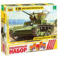 Сборная модель Звезда Танк Т-26