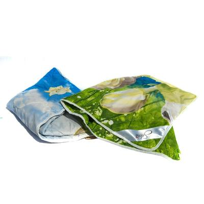 Одеяло Селена 140х205 см ватин/полиэстер стеганое (сумка ПВХ)