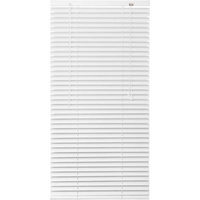 Жалюзи горизонтальные алюминиевые белые (1400x1600 мм)