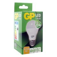 Лампа светодиодная GP 14 Вт Е27 грушевидная 2700К теплый белый свет