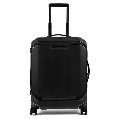 Чемодан Piquadro Matt 65.5 литров из пластика черного цвета (1203402)