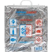 Термопакет 3-слойный полиэтилен серебристый 42x1x45 см
