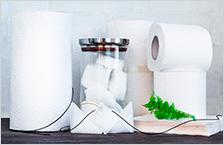 Бумажные гигиенические средства и держатели
