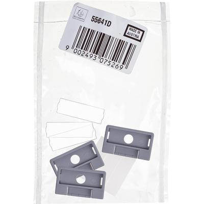 Индексное окно для картотек Exacompta пластиковое прозрачное (5 штук)