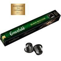 Чай в капсулах для кофемашин Greenfield Black Wonder (10 штук в упаковке)