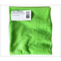 Тряпка для пола микрофибра 50х60 см зеленая 180 г/кв.м