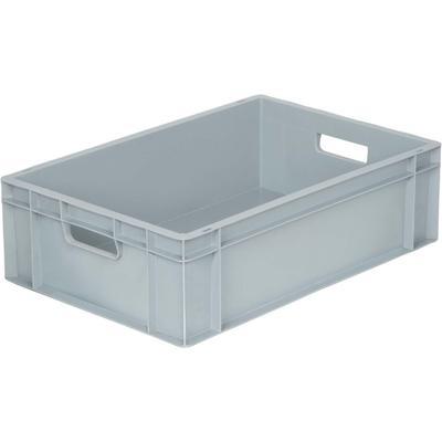 Ящик (лоток) универсальный полипропиленовый 600х400х175 мм серый