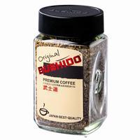 Кофе растворимый Bushido Original 100 г (стекло)