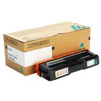 Картридж лазерный Ricoh SP C252HE 407717 голубой оригинальный повышенной емкости
