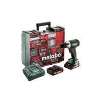 Дрель-шуруповерт аккумуляторная Metabo BS18LT Set (602102600)