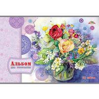 Альбом для рисования Апплика Букет с розами А4 32 листа