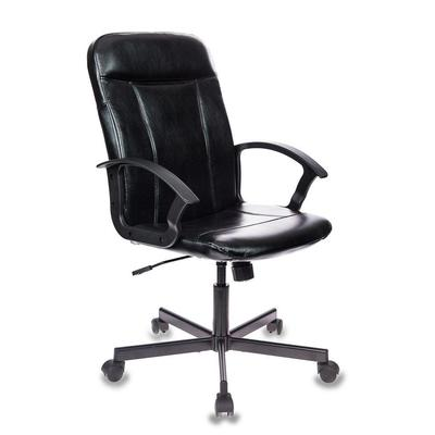 Кресло для руководителя Easy Chair 563 TPU черное (искусственная кожа, металл)