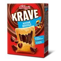 Подушечки Kellogg's Krave с шоколадно-молочной начинкой 220 г